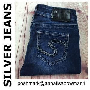 💙Silver Jeans SUKI Super Skinny Leg size 26